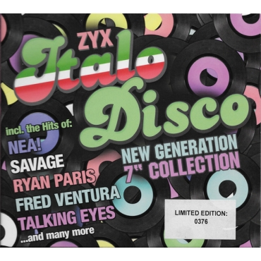 "ZYX Italo Disco New Generation 7"" Collection"