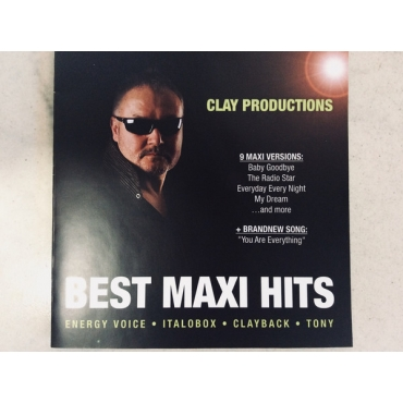 Clayback Clay ‎– Clay Productions - Best Maxi Hits