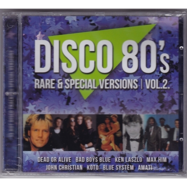 Various ‎– Disco 80's Rare & Special Versions Vol. 2