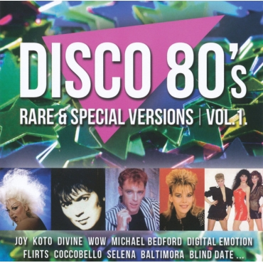 Various ‎– Disco 80's Rare & Special Versions Vol. 1