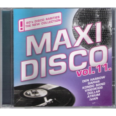 Various ‎– Maxi Disco Vol. 11.