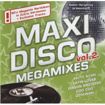 Various ‎– Maxi Disco Megamixes Vol. 2
