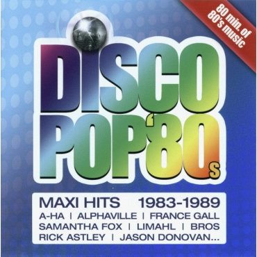 Various ‎– Disco Pop '80s - Maxi Hits Vol. 1