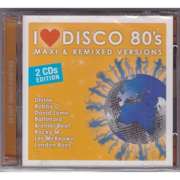 Various – I Love Disco: Maxi & Remixed Versions